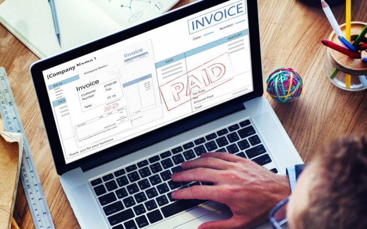 electronic invoicing system first bankcard processing